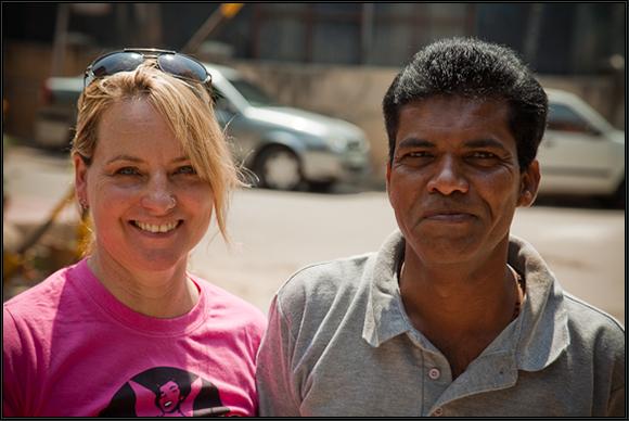 Bhaskar and Pamela